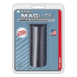 AM2A026 Maglite AA fekete bőrtok