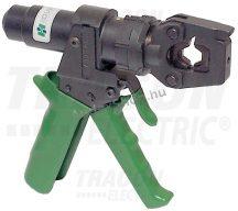 Tracon D31 Kézi hidraulikus présszerszám kábelsarukhoz, hordtáskában