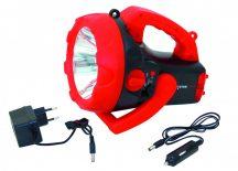 DL1010R-VEL 10W-os tölthető kézi reflektor