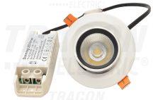 Tracon DLCOBA10W Beépíthető álmennyezeti LED lámpatest, forgatható