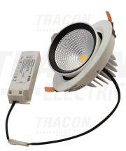 Tracon DLCOBA35W Beépíthető álmennyezeti LED lámpatest, forgatható