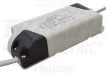 Tracon DLDD12W Fényerő-szabályozható meghajtó a LED-DL-12 panelekhez