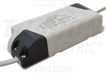 Tracon DLDD18W Fényerő-szabályozható meghajtó a LED-DL-18 panelekhez