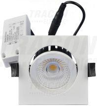 Tracon DLNCOBD13W Négyzet alakú LED mélysugárzó,forgatható