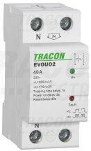 Tracon EVOUO2P63 Aut. visszakapcsoló fesz. növekedési/csökkenési relé