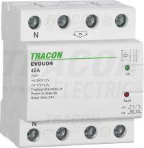 Tracon EVOUO4P63 Aut. visszakapcsoló fesz. növekedési/csökkenési relé