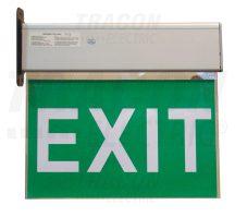 Tracon EXIT-02-J Élvilágítós LED kijáratjelző ragasztható piktogramokkal