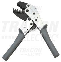 Tracon F25L Présszerszám szigeteletlen,-szigetelt és iker érvéghüvelyhez