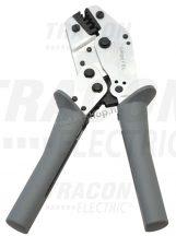 Tracon F6L Présszerszám szigeteletlen,-szigetelt és iker érvéghüvelyhez