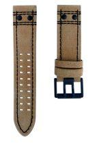 Luminox FE.41820.72HPL80RI Khaki bőrszíj fekete fémcsattal 1820/30/40/50 modellekhez