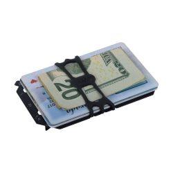 """FMT2-01-R7 Financial Tool V.2 """"pénztárca multiszerszám"""", fekete"""