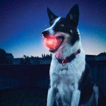 GlowStreak LED labda, piros