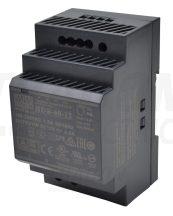 Tracon HDR-60-12 DIN sínre szerelhető tápegységszabályozható DC kimenettel