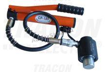Tracon HKS-15 Hidraulikus kivágó szerszám+hordtáska+7 db présbélyeg