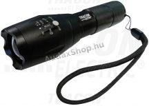 Tracon KL600B Akkumulátoros ledes kézi lámpaállítható fókusszal