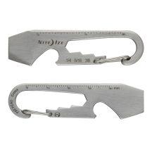 """KMT-11-R3 DoohicKey karabiner """"multiszerszám"""", fémszínű"""