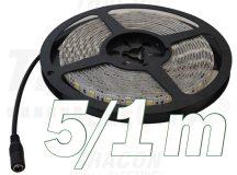 Tracon LED-SZTR-144-WW LED szalag, beltéri, takarítható, ragasztó nélküli