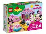 LEGO® DUPLO Minnie születésnapi zsúrja