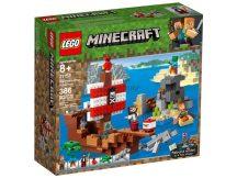 LEGO® Minecraft A kalózhajós kaland