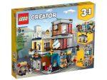 LEGO® Creator Városi kisállat kereskedés és kávézó