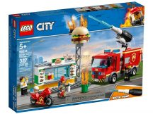 LEGO® City Tűzoltás a hamburgeresnél