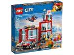 LEGO® City Tűzoltóállomás