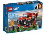 LEGO® City Tűzoltó-parancsnoki rohamkocsi