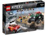 LEGO® Speed Champions 1967 és 2018 Mini