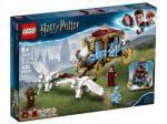 LEGO® Harry Potter Beauxbatons hintó: Érkezés Roxfortba