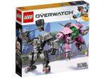 LEGO® Overwatch D.Va és Reinhardt