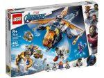 LEGO® Super Heroes Bosszúállók Hulk helikopteres mentése
