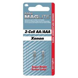 LM2A001 Maglite Krypton pótizzó Mini 2AA lámpákhoz (2db)