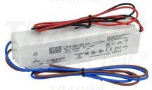 Tracon LPV-60-24 Műanyag házas LED meghajtó