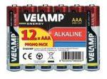 LR03-12PK-VEL 12 db-os alkáli AAA (miniceruza) elem
