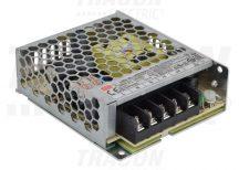 Tracon LRS-35-12 Fém házas LED meghajtó szalagokhoz, szabályozható DC kimenet