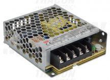 Tracon LRS-50-24 Fém házas LED meghajtó szalagokhoz, szabályozható DC kimenet