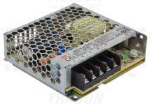 Tracon LRS-75-24 Fém házas LED meghajtó szalagokhoz, szabályozható DC kimenet