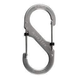LSB4-11-R3 #4 SlideLock S-biner , fémszínű