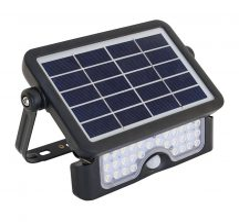 Tracon LSFL5W Napelemes LED fényvető mozgásérzékelővel