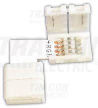 """Tracon LSZTLRGB Forrasztás nélküli """"L"""" gyorscsatlakozó RGB LED szalagokhoz"""