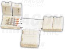 """Tracon LSZTTRGB Forrasztás nélküli """"T"""" gyorscsatlakozó RGB LED szalagokhoz"""