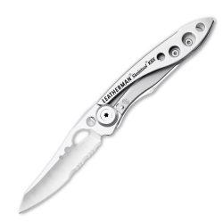 LTG832382 Leatherman Skeletool KBx kés, ezüstszín