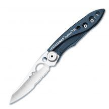 LTG832383 Leatherman Skeletool KBx kés, farmerkék