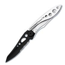 LTG832619 Leatherman Skeletool KBx kés, fekete/ezüst