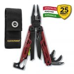 LTG832745 Leatherman Signal, Crimson piros