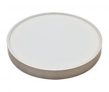 Tracon MFDS16W Műanyag búrás falon kívüli LED lámpatest ezüst peremmel