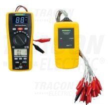 Tracon PANKABELFINDER Digitális multiméter és kabelkereső