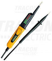 Tracon PANVOLTTESTER400 2 pólusú feszültségvizsgáló LED kijelző