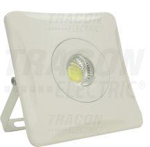 Tracon RCOB10W COB LED fényvető, fehér