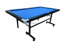 RELAX összecsukható biliárdasztal, kék